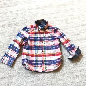 Baker by Ted Baker button up shirt size 18-24mo